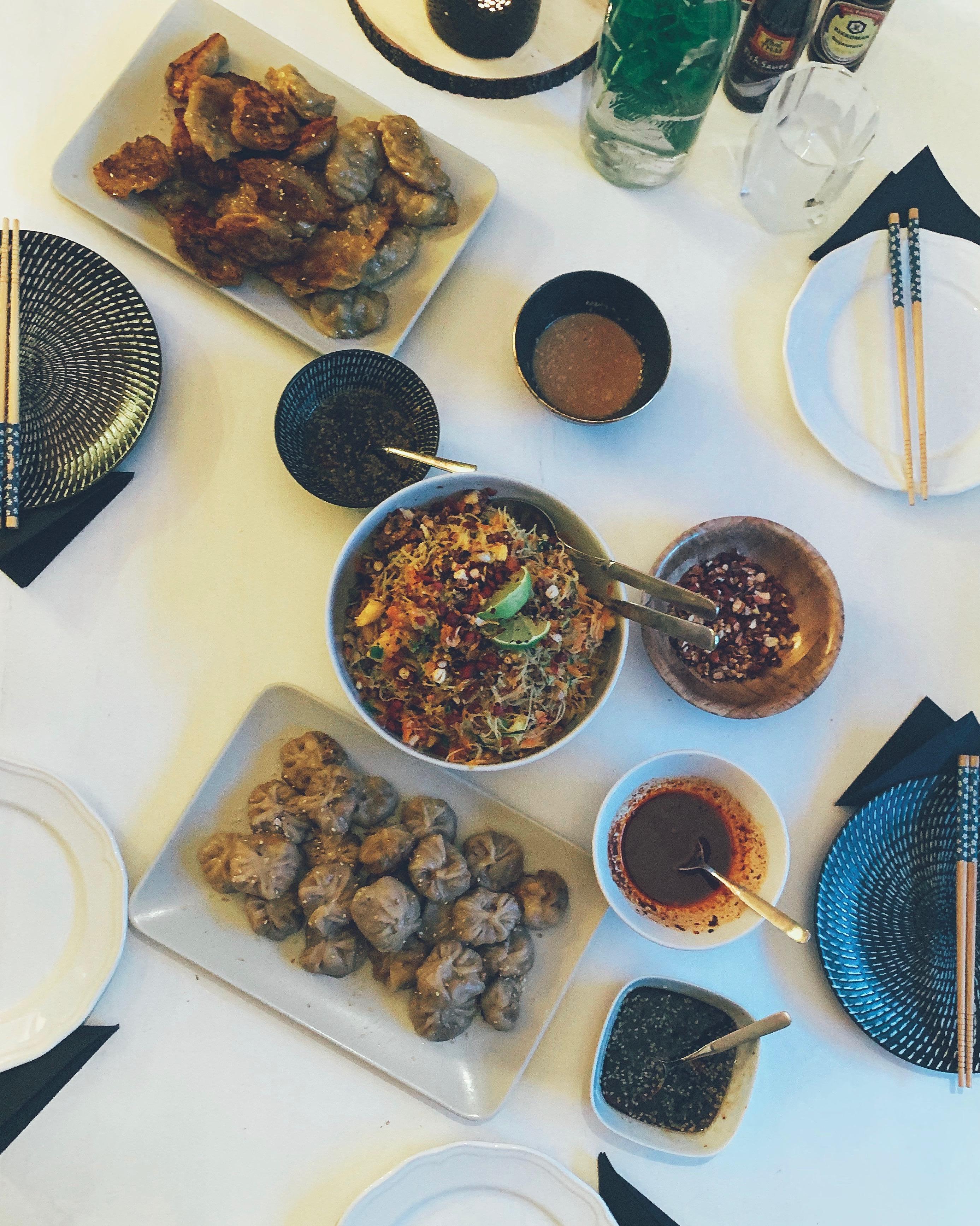 Dumplings – vegane, asiatische Teigtaschen