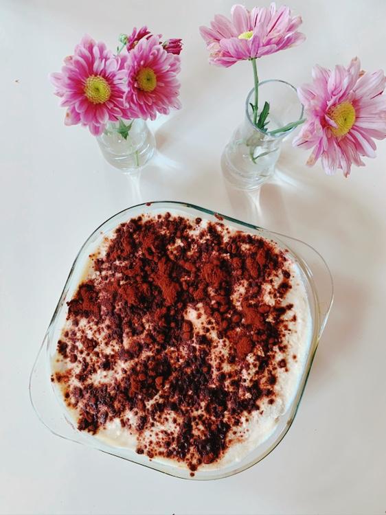 Vigamisu – veganes Tiramisu mit Schwarzes Gold-Kaffeelikör
